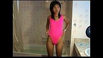 Petite Titty Thai teen Zoe 18 sucks & showers t...