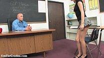 teacher! her seduces teen blonde Sweet