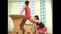Jeannie and Felicia leasbian love making on Sap...