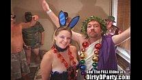 Costume Party Bunny Gets Bukkakedmin