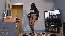 musulmane voilee en collant sans culotte