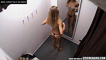 Czech Blonde Cuttie Spied in Shopping Mall