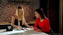 Carmen Callaway and Alina Li at WebYoung
