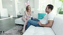 Katy Kiss gets a load to her feet