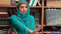 Hot Muslim Teen Shoplyfter Caught & Harassed porn videos