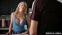 MILF wife needs some huge cock help around the ...