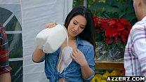 Hot Asian babe Eva Lovia hot outdoor fucking porn videos