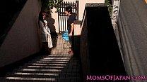 Japanese mom cheats and gets face fucked thumbnail