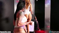 OpenLife STRIPPERS WITH BIG BOOBS! THREESOME! B...