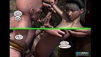 1-3 episodes maidens. blade comic: 3d