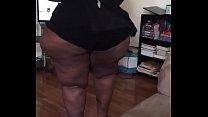 bbw ssbbw pear shaped wide hips big butt workout part3