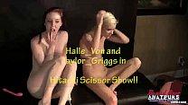 BrandNewAmateurs Halle Von takes Taylor039s Sci...