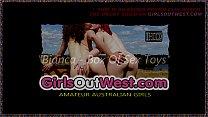 Girls Out West - Amateur hottie tests sex toys ...