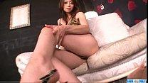 Maki Hojo rides cock and swallows fresh jizz porn videos