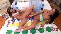 Horny, barely legal girls enjoy sapphic sex wit...
