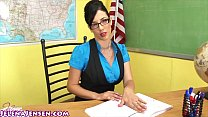 Jelena Jensen Shows You How to Earn Extra Credit!