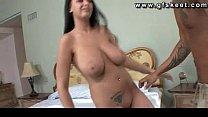 Pornstar Bella Blaze in hardcore fucking