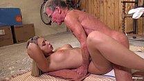 masturbating while anal fucked Babe