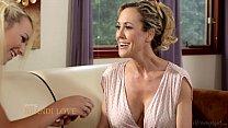 Busty Step-Mother Brandi Love and Carmen Callaway thumbnail