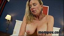 cock young fucks titty milf Sexy