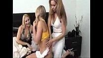 2 Lesbian Milfs Seduce a Teen Cheerleader into her First FFF Threesome porn videos