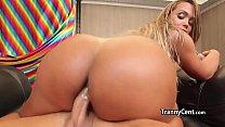 cock big on twerking Shemale