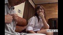 tai phim sex -xem phim sex Subtitled CFNM Japanese schoolgirl with older b...