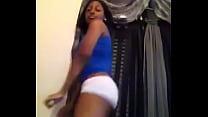 Fat ass ebony twerking her ass off
