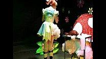 straight guy sissy maid forced crossdressing alice in wonderland humiliation