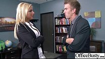 (britney shannon) Big Tits Office Girl Fucks Ha...