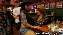 Teen Party Girls Get Facials!