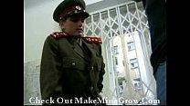 military girl fucks her prisoner