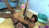 black stripper tranny tug – Free Porn Video