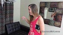 Small tittied girlfriend banging pov homemade