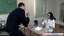 Geeky schoolgirl Danica Dillon fucking her older teacher porn videos