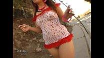 2 part hottie hollywood flashing public asian - summer Chloe