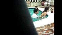 piscina la en Pillados