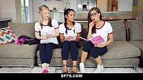 BFFS - Naughty Teen Tutors Seduce Student porn videos