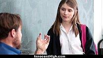 InnocentHigh - Cute Schoolgirl Gives Oral Exam porn videos