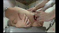 nurse has enema and a dozen big ass toys in her butt