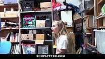 Shoplyfter - Catholic Schoolgirl Punished For Stealing porn videos