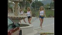 Busty Carwash Girls Boobs Big Tits