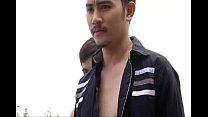 หนังเกย์ไทยหนุ่มหล่อควยยาวขึ้นเตียงแล้วจับควยแฟนชักว่าว
