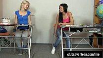 Девушка возбудилась от массажа лесбиянки