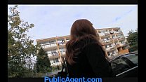 PublicAgent Married redhead Does Anal in the Ce...