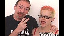 Punk Slut Fucks Toy and Big Cock! thumbnail