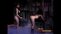 tai phim sex -xem phim sex Slutty brunette hussy receives a proper spankin...