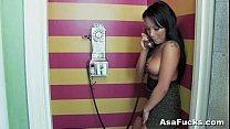 Asa's Phone Sex Masterbation