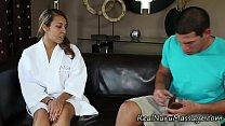 hot masseuse spunk black