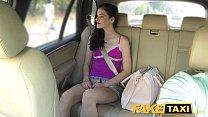 Fake Taxi Brunette Screams on Big Cock porn videos